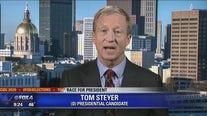 Democratic presidential hopeful Tom Steyer talks to Good Day