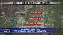 Two teens arrested for string of violent robberies across Fort Worth