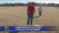 Dallas woman arrested after three pit bulls attack 76-year-old woman