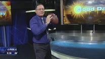 Chip Waggoner tries the Dak Dance Challenge