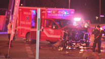 DWI suspect arrested after hitting Dallas ambulance carrying pregnant woman