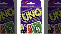Mattel gets rid of blue and red cards in 'nonpartisan' UNO deck