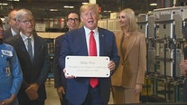President Trump, Tim Cook tour Apple plant in Austin