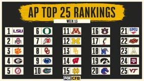 AP Top 25: Georgia edges past Alabama to No. 4; OU up to 8