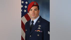 Recovery efforts continue for missing airman from Dallas