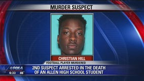 Second suspect charged with murder for Allen player's death