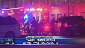 Two killed in shooting at northwest Dallas motel