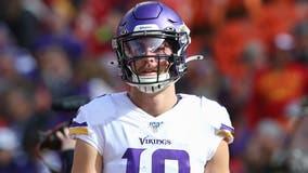 Hamstring keeps Vikings WR Adam Thielen out vs Cowboys