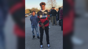 Wake held Sunday for Allen H.S. football player; Funeral set for Monday