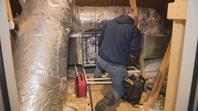 Amid frigid temps, HVAC companies respond to hundreds of service calls