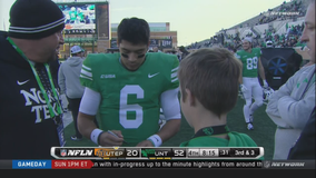 Fine throws career-high 7 TDs, North Texas beats UTEP 52-26