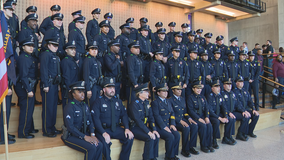 41 cadets sworn in as new Dallas police officers