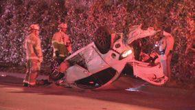 2 seriously injured in crash during police chase that started on Dallas North Tollway