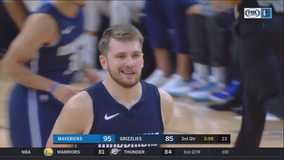 Doncic scores 24 points as Mavericks beat Grizzlies 138-122