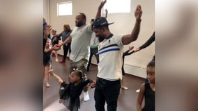'Dads are the best': Fathers dance ballet with daughters at Philly studio
