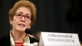 Ousted ambassador Marie Yovanovitch calls slew of Trump tweets during testimony 'very intimidating'