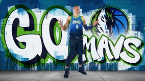 Dallas Mavericks reveal graffiti-themed alternate jerseys