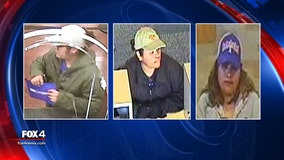 Dallas police looking for female serial bank robbery suspect