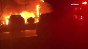 Fire destroys large home, trailer in Argyle
