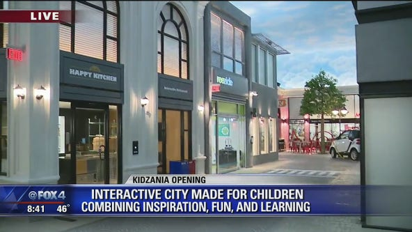 Kidzania interactive city for kids opens in Frisco