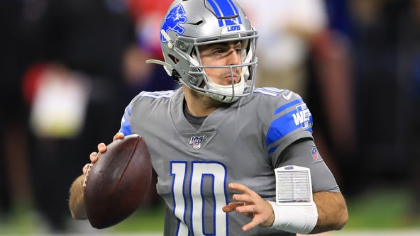Carrollton native plays in first NFL game as Detroit Lions quarterback