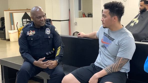 Irving officer to be honored for program bringing cops, neighbors together at barber shops