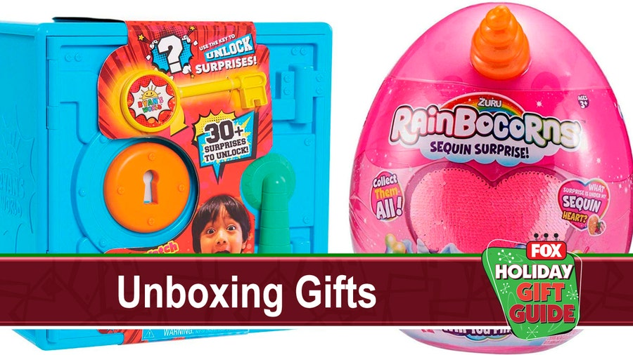 Surprise them with one of these popular unboxing gifts