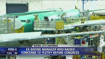 Ex-Boeing manager who raised concerns to testify before Congress