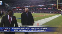 Jerry Jones gets dumped off air for cursing during heated radio interview after Cowboys loss to Bears