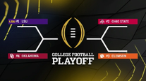 Sooners make 2019 College Football Playoff; LSU No. 1, Ohio St. No. 2, Clemson No. 3