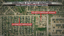 Police: Couple may have tried to abduct child near Carrollton school