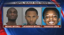 3 indicted in the Joshua Brown capital murder case