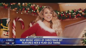 Mariah Carey Creates New Video For Christmas Classic
