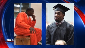 Former death row inmate exonerated of murder graduates from North Texas college