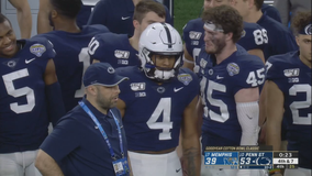 No. 13 Penn State tops No. 15 Memphis 53-39 in Cotton Bowl