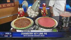 Cranberry Key Lime Pie