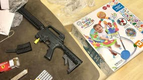Florida couple buys baby bouncer at Goodwill, finds semi-automatic rifle inside