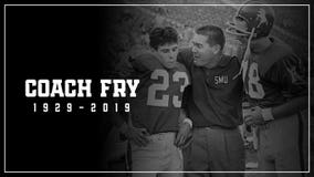 Hayden Fry, Texan who turned around SMU, North Texas, Iowa, dies at 90