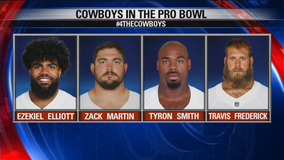 4 Cowboys players picked for 2020 Pro Bowl