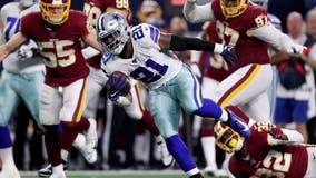 Cowboys beat Redskins 47-16, miss playoffs with Eagles' win
