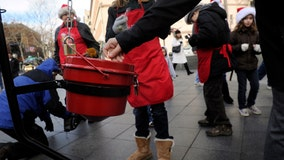 Tiffany & Co. bracelet dropped in Salvation Army kettle