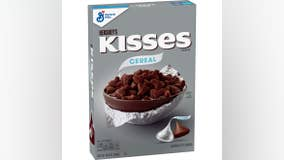New Hershey's Kisses cereal hits store shelves