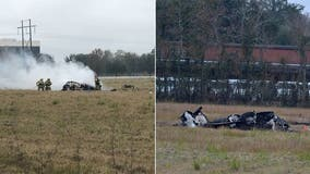 Plane crash in Louisiana kills 5, including LSU coach's daughter-in-law