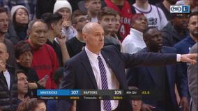 Mavericks blow 30-point lead, lose to Toronto 110-107