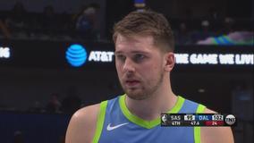 Doncic scores 24 on return, Mavericks hold off Spurs 102-98