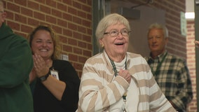 Garland ISD honors 85-year-old teacher for 26 years of service with perfect attendance