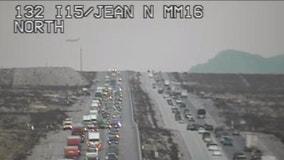 Las Vegas to California traffic backup tops 20 miles