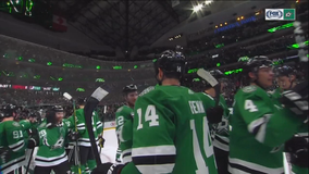 Stars edge Avs in shootout 3-2 behind Bishop's big night