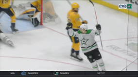 Khudobin helps Stars beat Predators for 4th win in 5 games