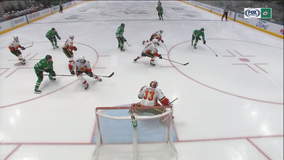Flames score 3 power-play goals, beat Stars 5-1